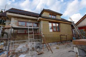 úver narekonštrukciu domu