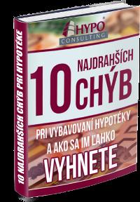 e-book 10 najdrahších chýb pri vybavovaní hypotéky